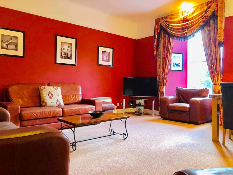 Apartment 4, Kilconquhar Castle, with Leisure Club Access, holiday rental in Colinsburgh