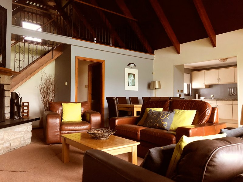 No. 5, Kilconquhar Castle Estate, with Leisure Club Access, holiday rental in Lundin Links