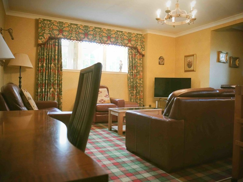Apartment 1, Kilconquhar Castle, with Leisure Club Access, holiday rental in Colinsburgh