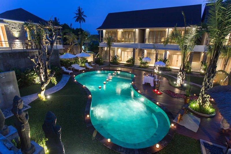 Deluxe Room Free Breakfast, holiday rental in Singakerta