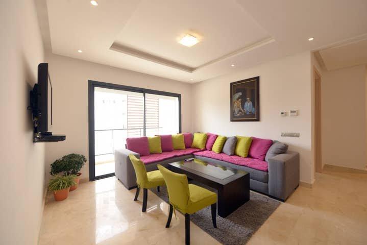 3056. RABAT 2 MOROCCO - HAY RIAD BUSINESS DISTRICT - PRESTIGIA, holiday rental in Rabat