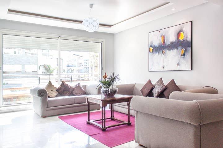 3054. RABAT 1 MOROCCO - HAY RIAD BUSINESS DISTRICT - PRESTIGIA, holiday rental in Rabat
