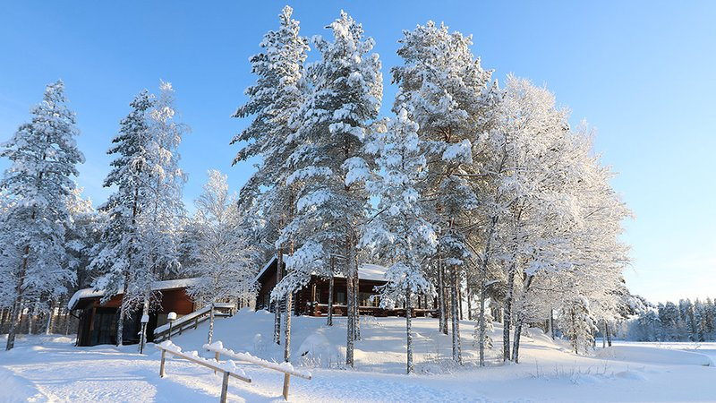 Winter holiday in Finnish Lakeland