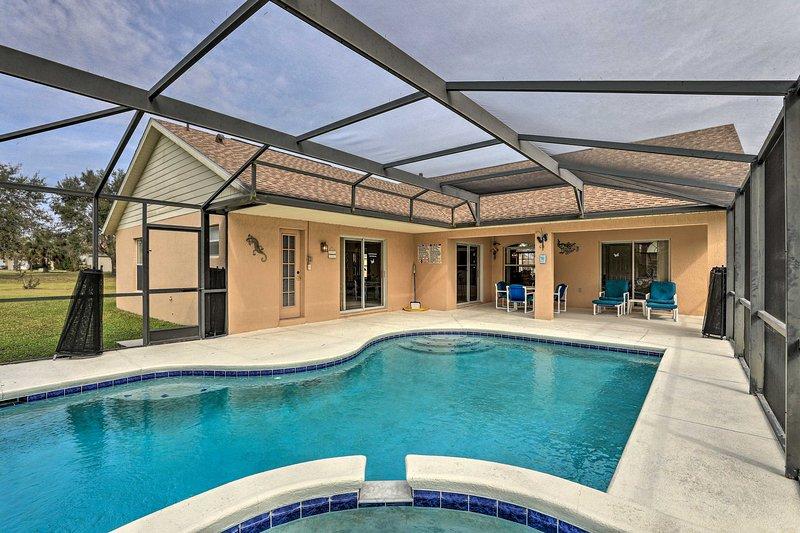 NEW! Family Home w/ Lanai ~13 Mi to Disney World!, holiday rental in Bay Lake