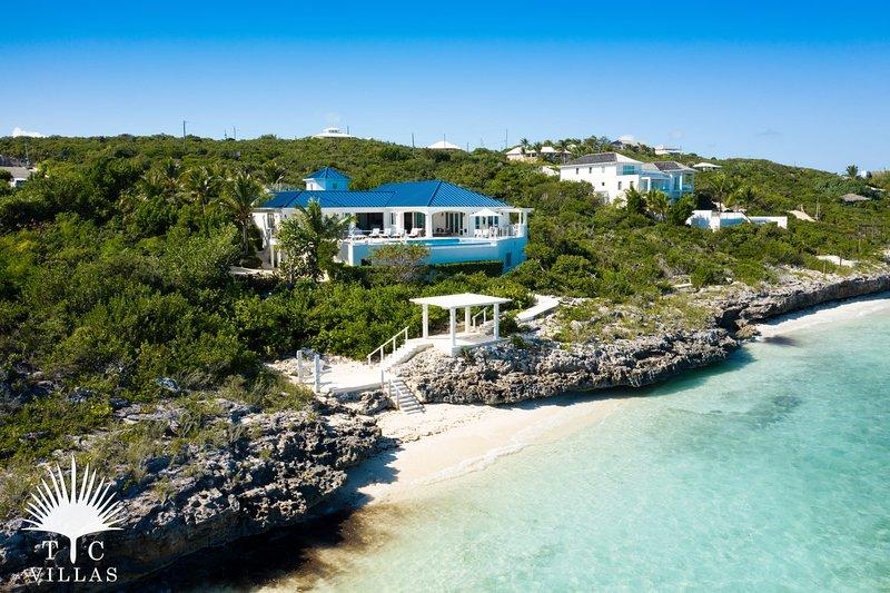 TC Villas // Villa MaryJane // Pocket beach, snorkeling & more, holiday rental in Turtle Cove