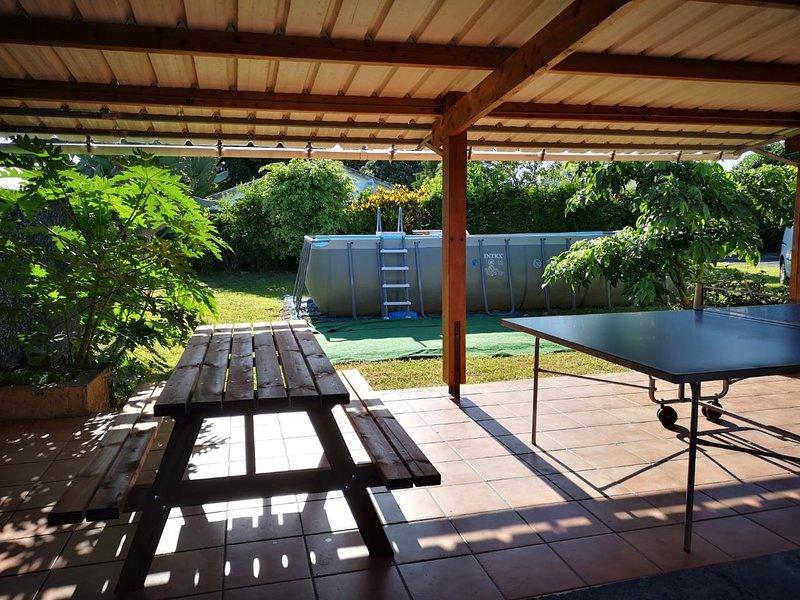 Villa Fontaine, location de vacances à Bras-Panon
