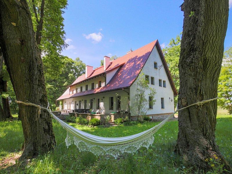 Dwór Szwałk, vacation rental in Szwalk