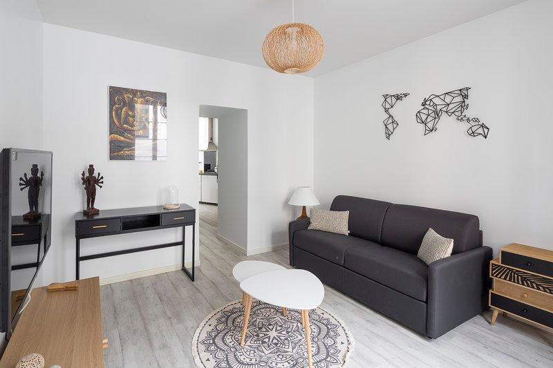 LE ROAZHON - Charmant appartement au cœur de Rennes, casa vacanza a Bruz