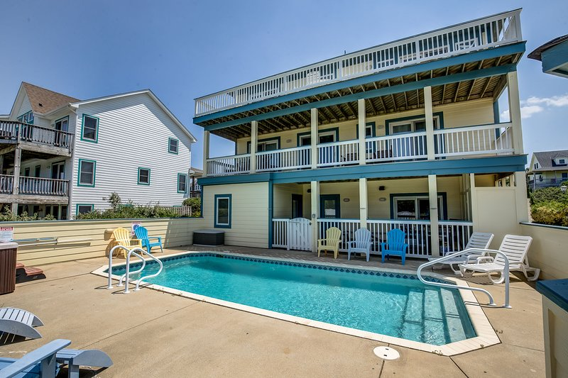 In Between Dreams | 1432 ft from the beach | Private Pool, Hot Tub, Dog Friendly, holiday rental in Duck