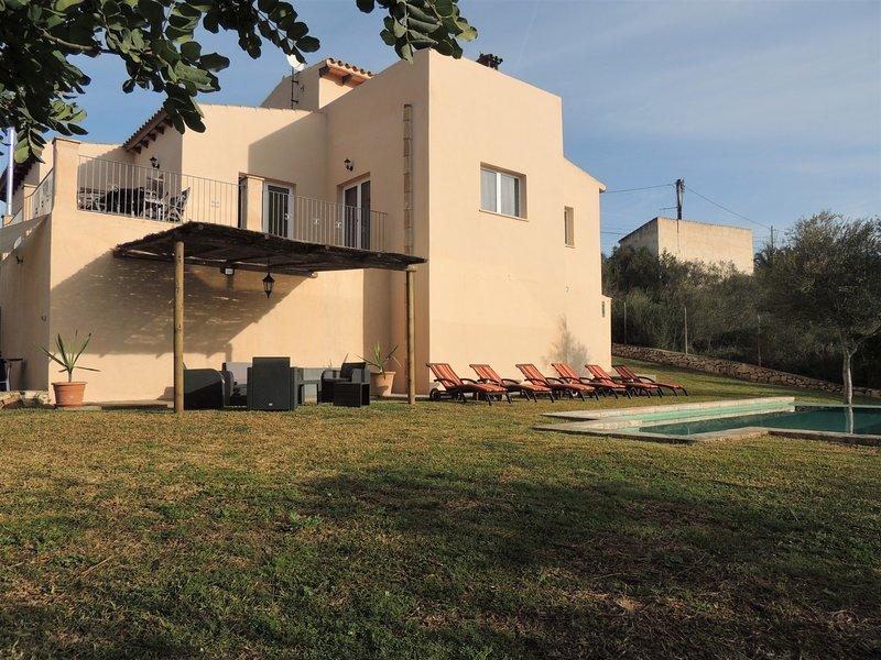 Villa Paqui, holiday rental in Cala Mondrago