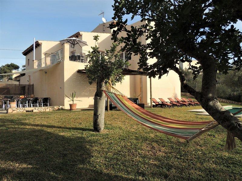 Villa Paqui, location de vacances à Cala Mondrago