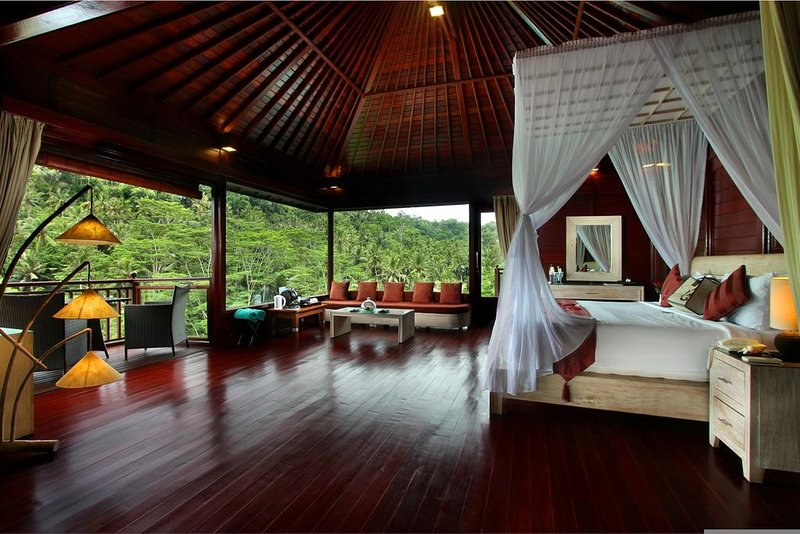 1 BR River Front Pool Villa - Breakfast, casa vacanza a Sangeh