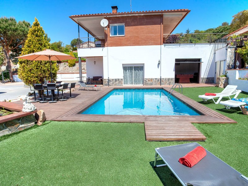 Lovely, holiday rental in Vidreres
