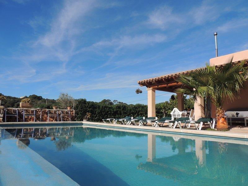 Villa Manuela, holiday rental in Cala Mondrago