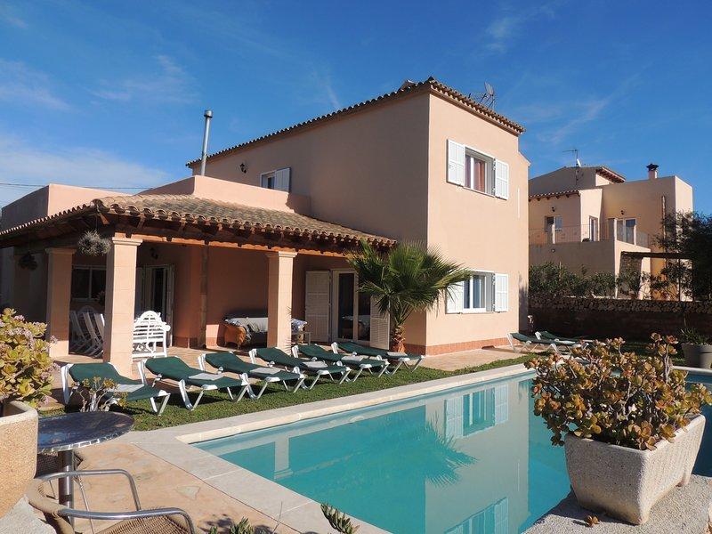 Villa Manuela, location de vacances à Cala Mondrago
