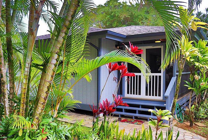 Blue Anini Villa, alquiler de vacaciones en Kilauea