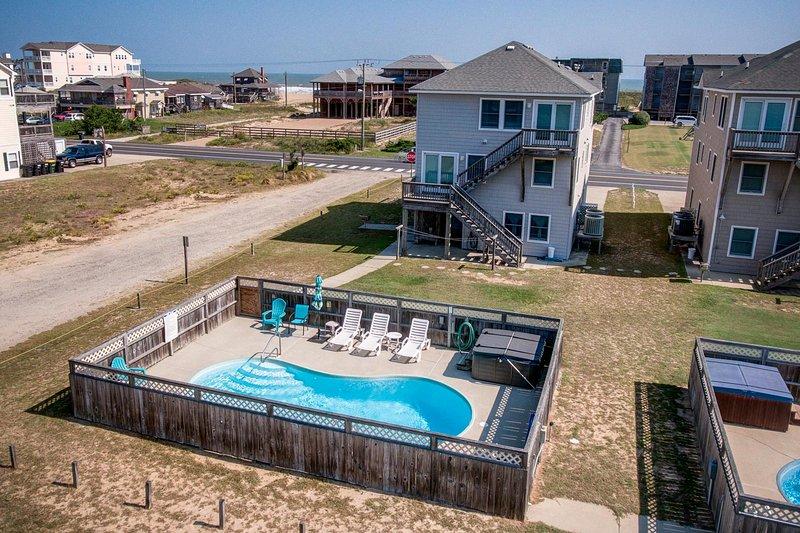 Beach Break | 860 ft from the beach | Private Pool, Hot Tub | Kill Devil Hills, holiday rental in Kill Devil Hills