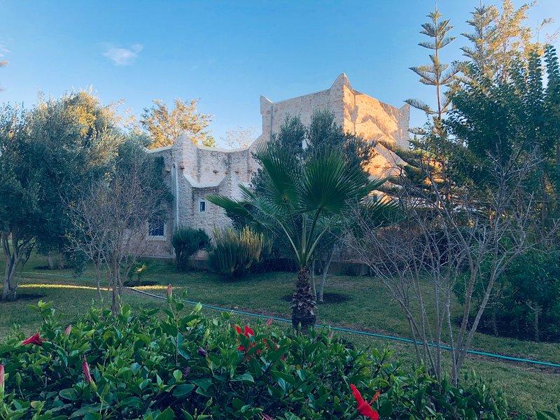 Villa sur 5000 m2, 10 couchages, avec piscine privée sans vis à vis, location de vacances à Essaouira