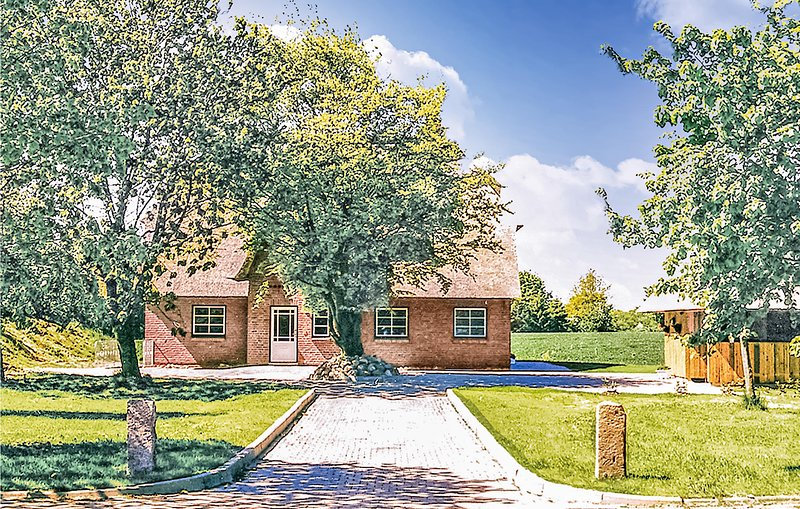 Beautiful home in Osterby with Sauna and 3 Bedrooms (DSH100), alquiler vacacional en Gross Wittensee
