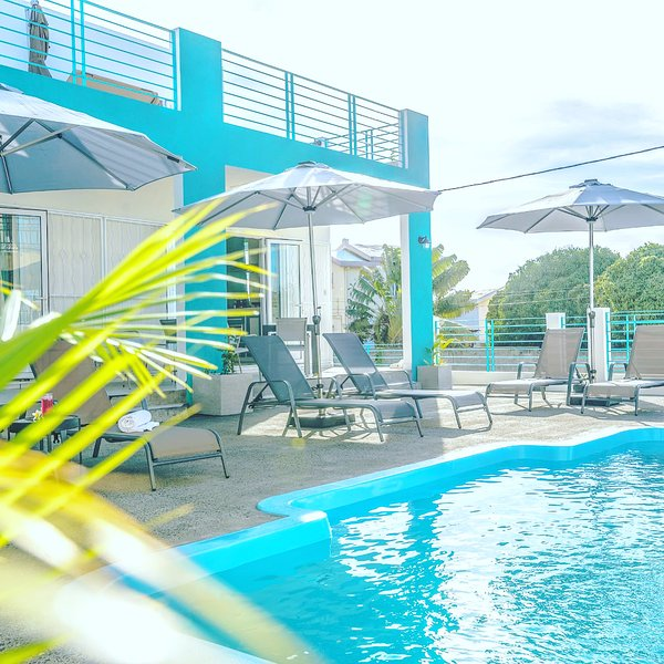 Abiki d-4 appartements autonomes piscine location voitures, vacation rental in Beau Bassin - Rose Hill