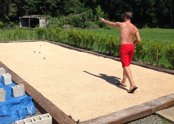Kergudon has its own petanque (boule) pitch for guests to enjoy and get competitive!