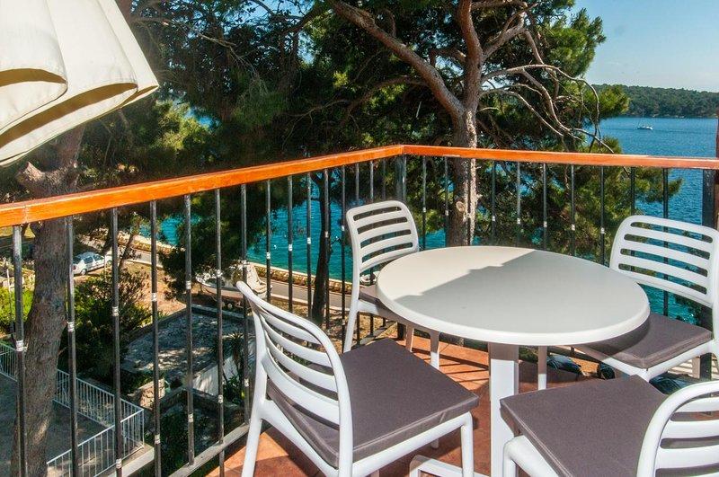 Mali Losinj Apartment Sleeps 3 with Air Con - 5583652, holiday rental in Cunski