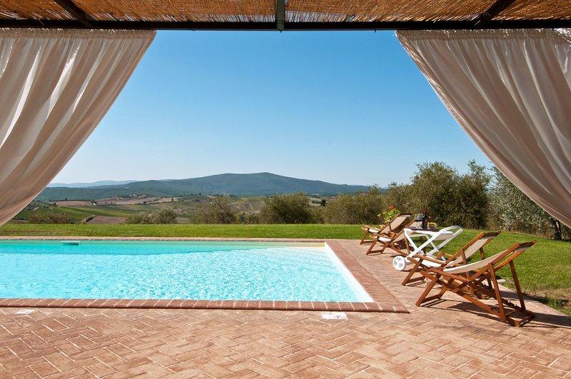 San Leonino Villa Sleeps 12 with Pool - 5696022, vacation rental in Castellina In Chianti