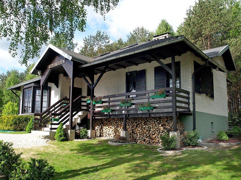 Trzy Brzozy, location de vacances à Parchowo