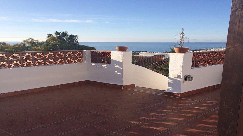 Terrazza sul tetto privata con vista panaromica