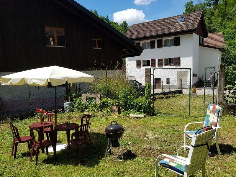 Chemin de la Réselle, vacation rental in Wangenried