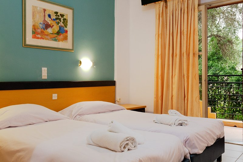 Wilde Rose hotel Dassia 2 Beds Room, vacation rental in Pyrgi