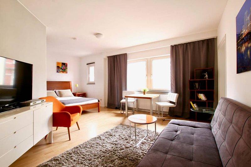 Bis-4441 · stylishes Studio-Apartment im Belgischen Viertel, location de vacances à Hurth