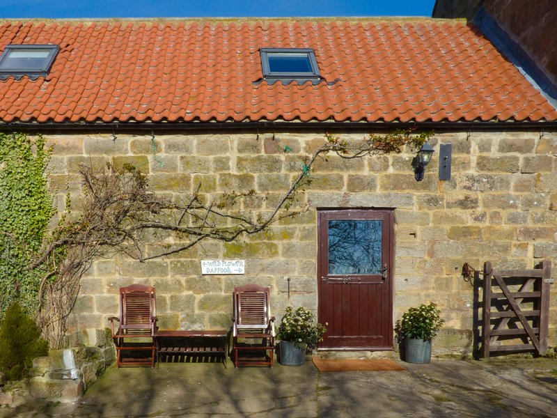 DAFFODIL COTTAGE, pet friendly, character holiday cottage, with a woodburner, vakantiewoning in Lealholm