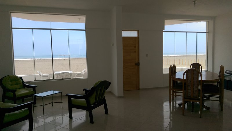 Dinning and Living room with ocean view
