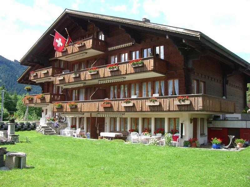 Schmid's Hus - Butz, vacation rental in Lenk im Simmental