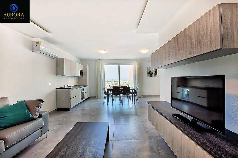 Aurora Apt. 14 - Extraordinary Style!, vacation rental in San Gwann