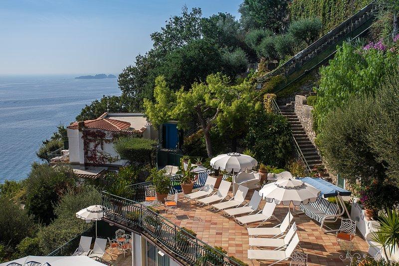 Panoramic Villa Azalea, alquiler de vacaciones en Positano
