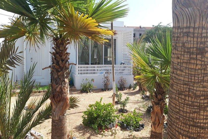 Casa Madlen, sea view, Praia de Chaves, Boa Vista, Cape Verde, holiday rental in Santa Monica