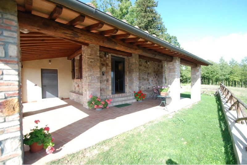 Monticiano Cottage Sleeps 3 with Air Con - 5711277, holiday rental in Monticiano