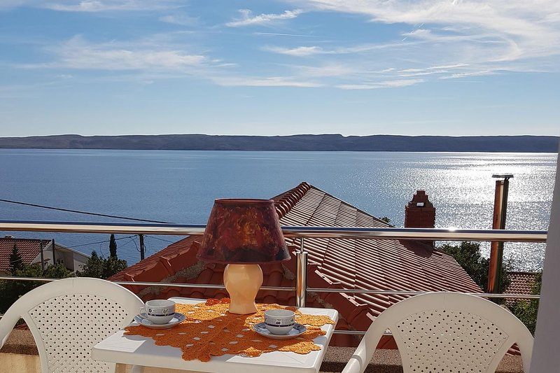 Baric Draga Apartment Sleeps 4 with Air Con - 5679573, vacation rental in Baric Draga