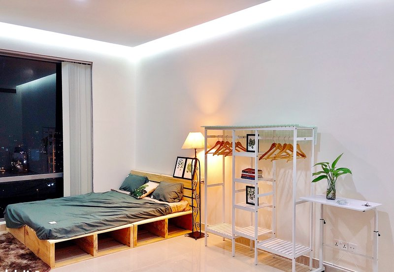 Lovely officetel apartment in Phu My Hung dist 7, Ferienwohnung in Ho-Chi-Minh-Stadt