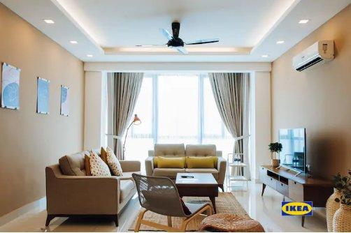 PY|Urban Cozy Seaview | 都市安逸海景公寓, holiday rental in Sungai Petani