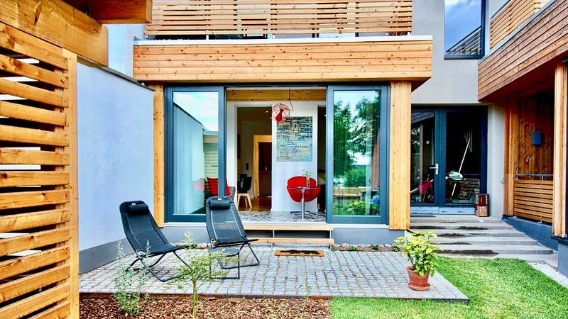 Bootschaft Studios Lychen - Studio 3, Ferienwohnung in Himmelpfort