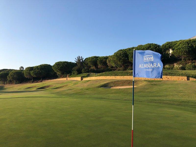 Next to the Almenara golf club