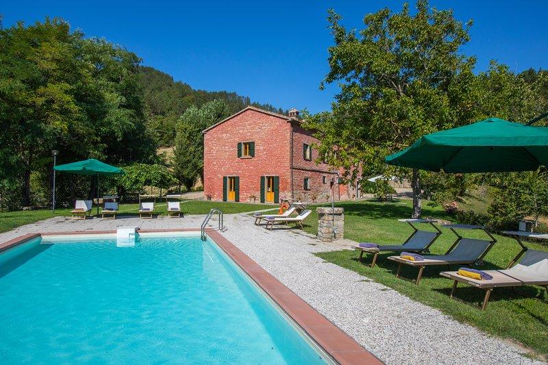 I Vanzetti Villa, vacation rental in Tredozio
