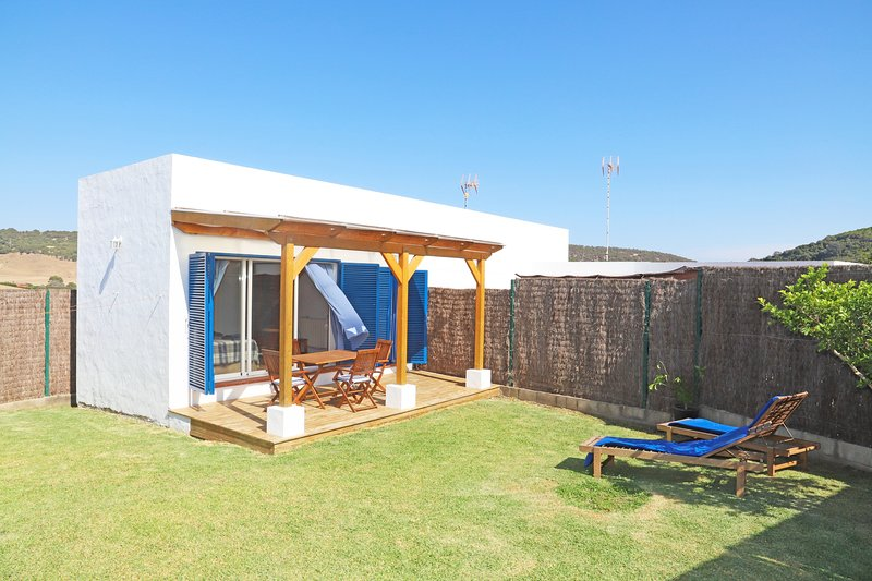 Blaues Haus. Casa rural, confortable, nueva, buenas vistas. – semesterbostad i Vejer de la Frontera