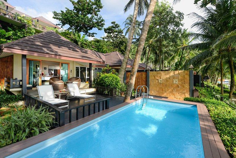 Ban Nai Thon Villa Sleeps 2 with Pool and Air Con - 5813203, vakantiewoning in Nai Thon