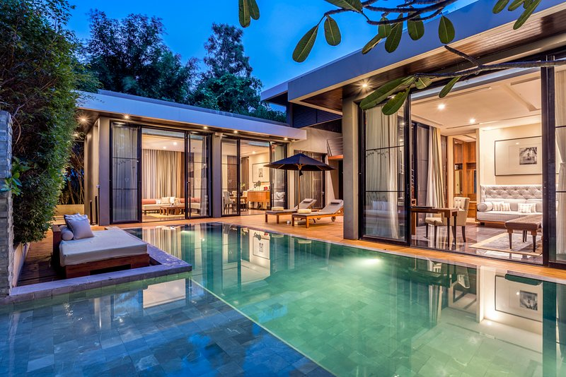 Ban Hua Na Villa Sleeps 5 with Pool and Air Con - 5812040, alquiler vacacional en Ban Khao Takiap