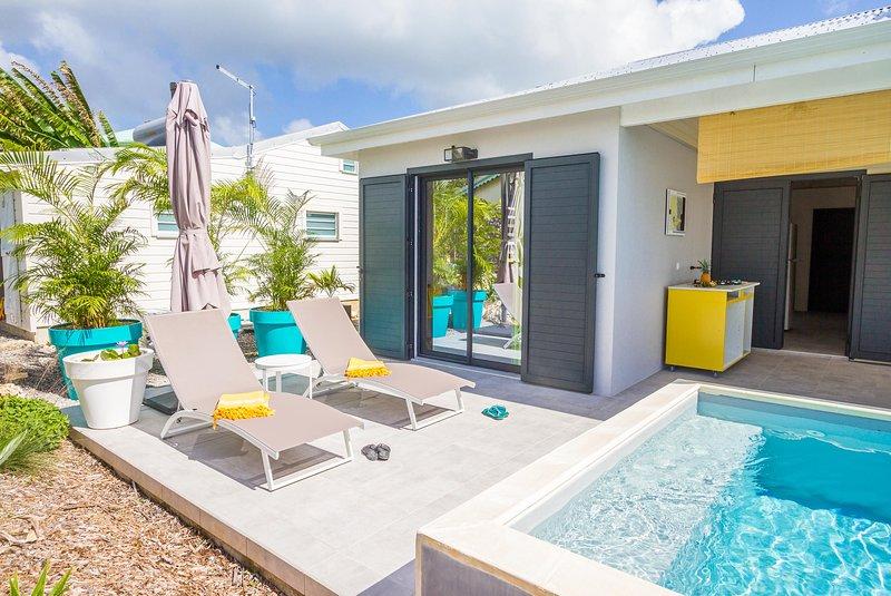 Iguana house villas & micro spa villa Passion terrace