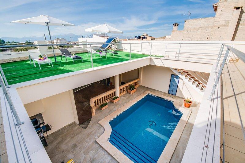 Haus 'Villa Marian' in Muro, holiday rental in Muro